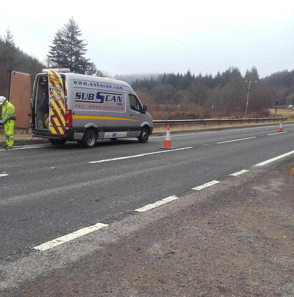 CCTV drainage survey and asset mapping